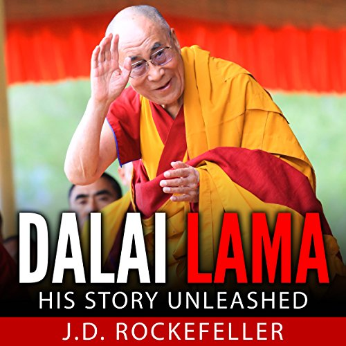 Dalai Lama audiobook cover art