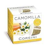 Caffè Corsini Camomilla, Capsule Compatibili Nespresso, La Tisana Dolce per i Momenti di Relax,12 Confezioni da 10 Capsule