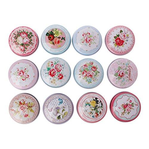 Dengeng Aufbewahrungsdose für Lippenstift, rund, für Tee/Süßigkeiten
