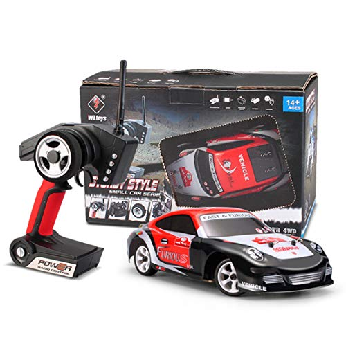 Yamix 1/28 2.4G RC Car, 4WD Crawler Brushed Drift Car Remote Control Racing Car Model