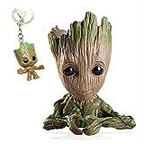 Udream Baby Groot Maceta - Maravillosa Figura de acción de Guardians of The Galaxy para Plantas y bo...