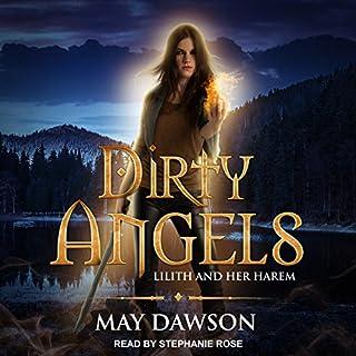 Dirty Angels: Reverse Harem Paranormal Romance audiobook cover art