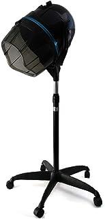 Secador de Pelo de Pie Casco Secador Profesional 950W Altura Ajustable con Temporizador 0-60 min Herramienta para Peluquería en Casa.