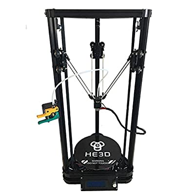 HE3D K200 delta 3d printer kit_with heat bed_two rolls of filament fo for your gift