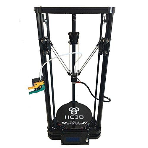 HE3D K200 delta Kit d'imprimante 3d avec lit chauffant_deux rouleaux de filament pour votre cadeau