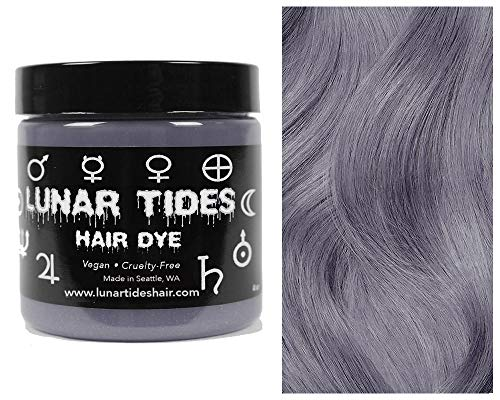 Lunar Tides Hair Dye - Silver Lining Semi-Permanent Vegan Hair Color (4 fl oz / 118 ml)