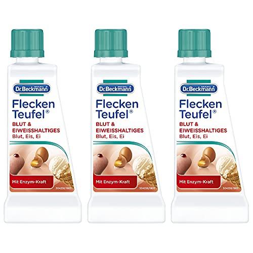 Dr. Beckmann manchas Teufel sangre, leche, Proteínas, 3Pack (3x 50ml)