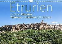 Etrurien: Land der Etrusker - Toskana und Latium fuer Entdecker (Wandkalender 2022 DIN A4 quer): Ein besonderes Stueck Italien (Monatskalender, 14 Seiten )