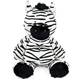 Super Soft Plush Zebra Stuffed Animal Toy, Adorable Striped Zebra Jungle Animal (22.5 Inch)