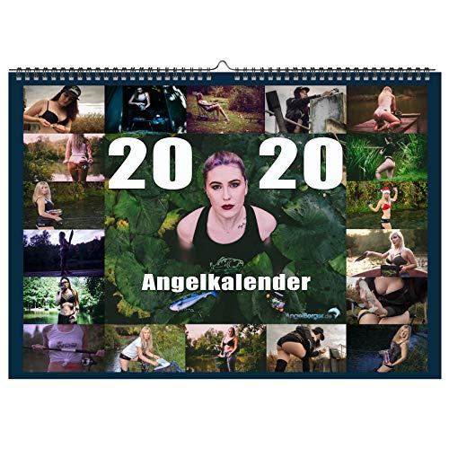 Angel-Berger Angelkalender Kalender Fishing Angeln Wandkalender Anglerkalender