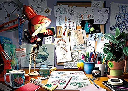 HZDXT Rompecabezas de rompecabezas, 1000 piezas de niño niña de arte de la decoración del paisaje cartel del artista de escritorio puzzles, juegos de niños juguetes educativos regalos