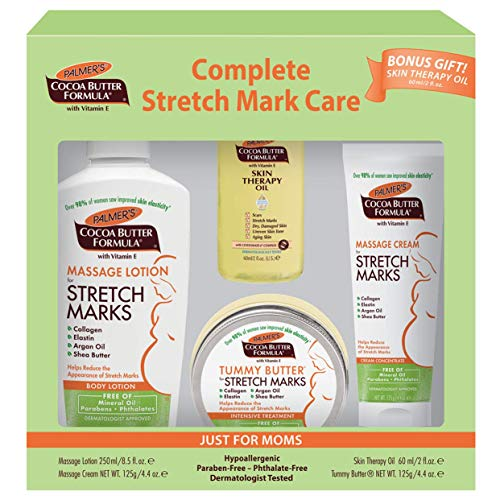 cheap A complete skin care set for pregnancy and stretch marks with Palmer's Cocoa Butter Formula