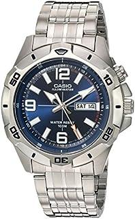 Casio Men's MTD1082D-2AV Super Illuminator Analog Quartz...