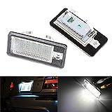 LITTAU KOLOME 2 x 18 LED Luz de matrícula Canbus Error para A6 C6 Q7 A4 B7 A4 B6 8E A3 S3 A8 S8 S6 RS4 RS6