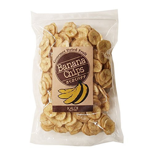 キャメル珈琲 カルディ オリジナルさくさくバナナチップス 1袋
