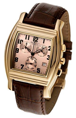 Pilo & Co Herren-Armbanduhr, Schweizer Quarz, Chronograph, Kollektion P0120CHQGR
