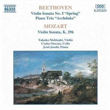 BEETHOVEN / MOZART: Violin Sonatas / Piano Trio