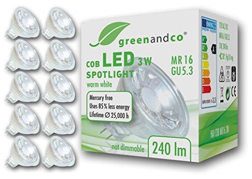 greenandco -  10x ® LED Spot