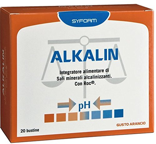 SYFORM Alkalin 20 buste da 5g Gusto Arancia