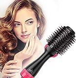 DEAMOS [UPGRADED] Hot Air Brush,Hair Dryer Brush, One Step Hair Dryer & Volumizer