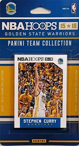 STEPHEN CURRY WARRIORS 2015 2016 HOOPS TEAM SET Klay Thompson Factory New Sealed product image