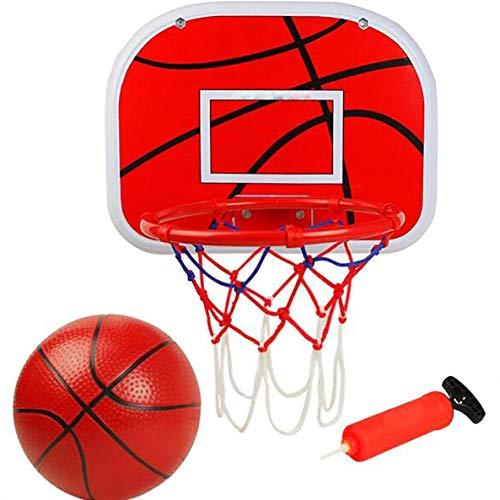 LXLTLB Canasta - Baloncesta regolabile Niños Junior Baloncesto Aro Y Juego Tablero di Bomba di Chiego di Pelota Divertido Para Interiores Y Exteriores Actividades Para Juego Deportivo