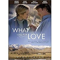 What I Did for Love [DVD] [Import]