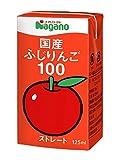 ナガノトマト 国産ふじりんご100 125ml