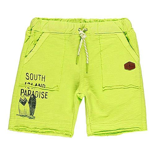 Boboli Jungen Kurze Sweat Hose Shorts Bermuda Baumwolle grün (116)