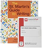 The St. Martin's Guide to Writing 12e & LaunchPad for the St. Martin's Guide to Writing 12e (Six-Months Access)