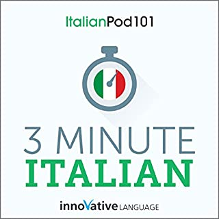 3-Minute Italian cover art