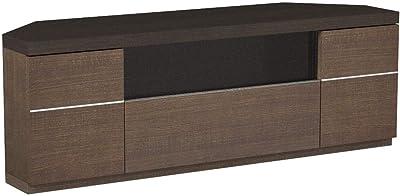 大谷工業 薄型コーナーTVボード 幅120cm ブラウン USG-1200-KBR