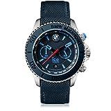 Ice-Watch - BMW Motorsport (steel) Dark & Light BE - Orologio blu da Uomocon Cinturino in pelle - 001125 (Extra large)
