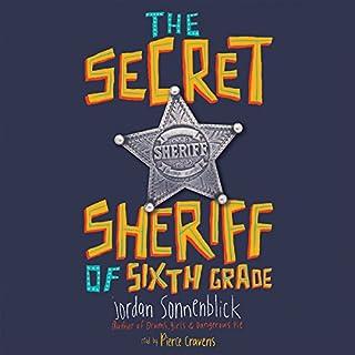The Secret Sheriff of Sixth Grade audiobook cover art