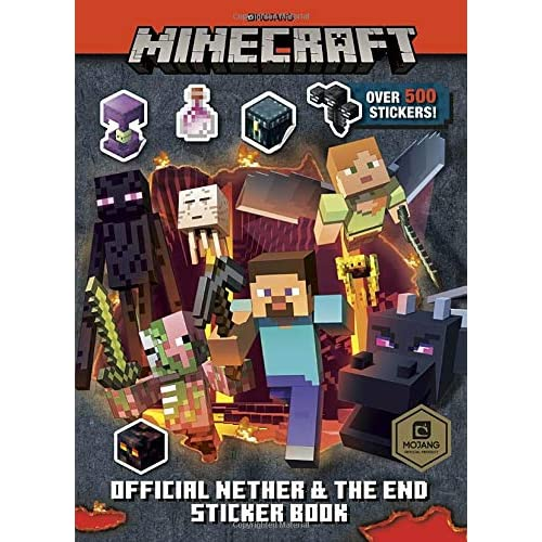 Minecraft Official the Nether and the End Sticker Book