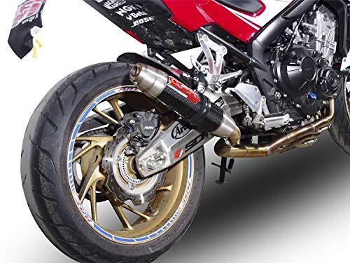 mächtig GPR Auspuffanlage Auspuffanlage Honda CBR650 F2014 / 18 Auspuffgeprüfter GPR Schalldämpfer für Gerüchte…
