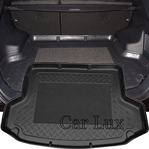 Car Lux AR01491 - Alfombra Cubeta Protector cubre maletero a medida con antideslizante para iX35