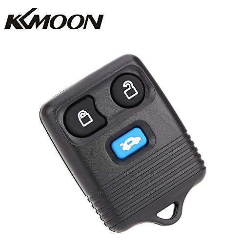 KKmoon 3 Tasten Remote Schlüssel Ersatz 433MHz für Auto