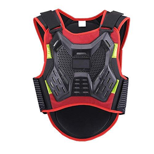 ZzheHou Motorrad-Schutzjacke Rückenprotektor Fallschutz Rüstung Weste Motorrad Langlauf Fahrrad Ski Furnier Motorrad-Schutzkleidung (Size : M)