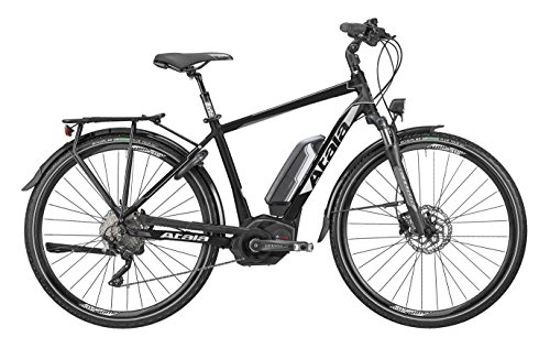 Bicicletta elettrica Atala B-TOUR SLS PVW MAN 10 velocità, misura S (160 - 170 cm), nero-opaco/antracite, kit elettrico Bosch Performance 500 Wh