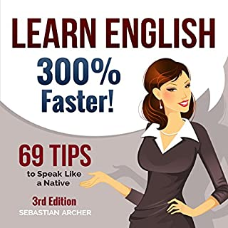Learn English 300% Faster cover art