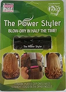 The Power Styler - Blow Hair Dryer Attachment (Black)