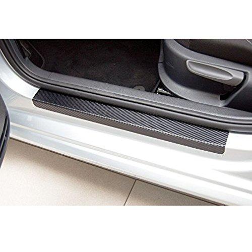 muchkey® coche puerta Sill Scuff proteger pegatinas noche conducción reflectantes de seguridad advertencia pegatinas para