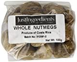 JustIngredients Essential Muskatnuss, Nutmeg, 1er Pack (1 x 100 g)