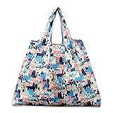 折りたたみ買い物袋 防水素材 (小動物)