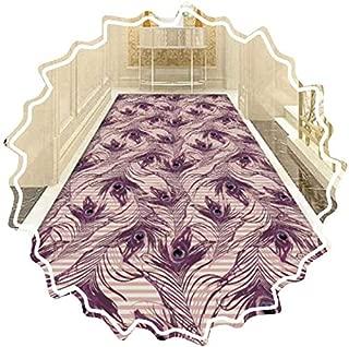AOLI Pasillo corredor de la alfombra, Alfombras hechas a máquina Cuttable Easy Clean suave superficie de la cocina de la sala, tamaños personalizados (Color: A, Tamaño: 0,8M X 3M (2,62 pies x 9,84 pi