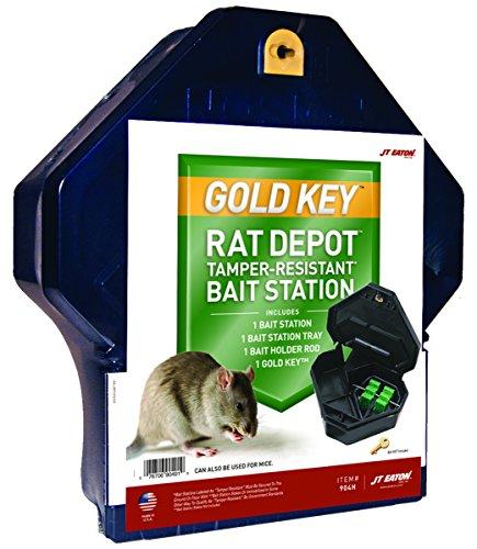 Gold Key Rat Bait Station - JT Eaton 904H