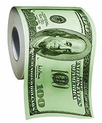 Give funny unique push presents - dollar toilet paper