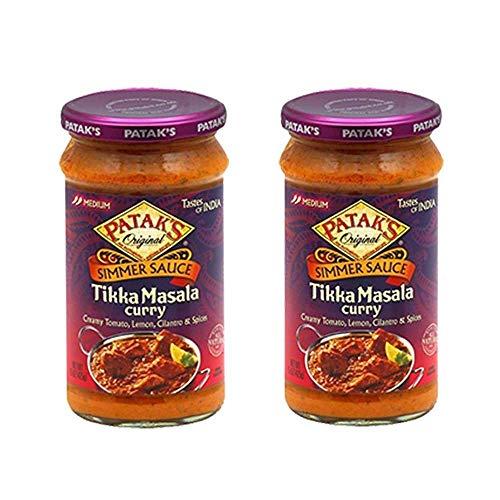 Pataks 2-15 Oz Origial Simmer Sauce Tikka Masala Curry, 30 Oz