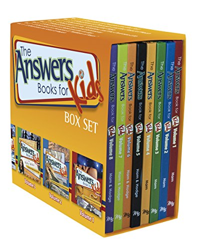 Answers for Kids Boxed Set (The Answers Book for Kids)